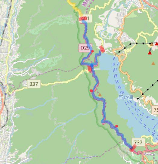 route map ashinoko skyline